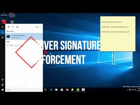 Disable/Enable Driver Signature Enforcement Using Command Prompt | Easiest Way