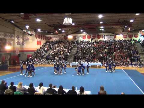 Gaithersburg High School Varsity Cheer Division 1 Competition 11-15-14