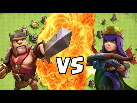 Full Download King Vs Queen Clash Of Clans Let S Play