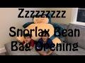 Snorlax Bean Bag Chair Unboxing