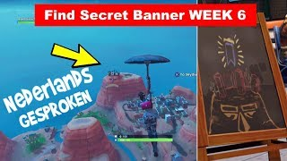 Find the Secret Banner Week 6 Season 7 | NL Fortnite Challenge | Playr NINE-English