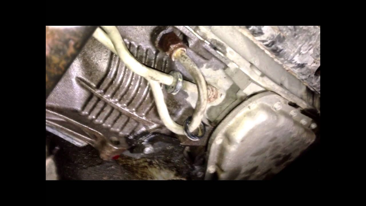 How to change Transmission lines  YouTube