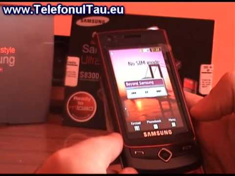 Samsung S8300 UltraTouch review ( romanian )