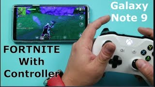 How To Play FORTNITE With Any Controller On Samsung (description has update)