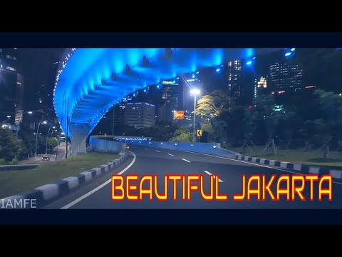 BEAUTIFUL DOWNTOWN JAKARTA AT NIGHT - PART.1 (FULL HD)