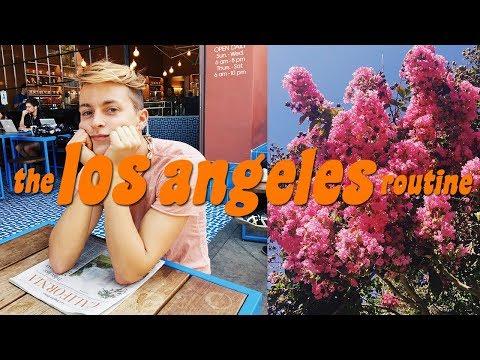 THE LOS ANGELES ROUTINE 🕶 | DamonAndJo