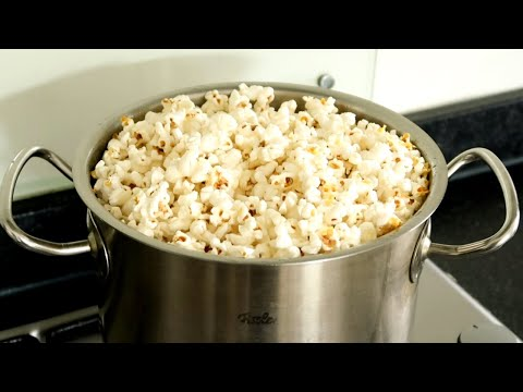 How to Make INRATABLE Homemade Popcorn WITHOUT Machine / Recipe in 3 Minutes indir