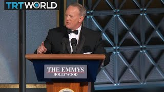 2017 Emmy Awards: Sean Spicer makes cameo appearance at awards