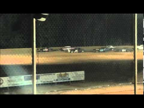 May 16, 2014 Northwest Florida Speedway Pure Stock Feature