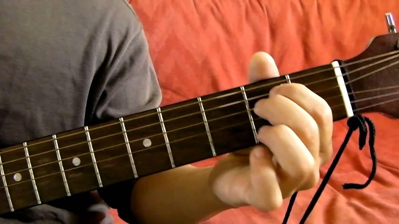 G D Em C Guitar Chord Progression Demonstration Youtube