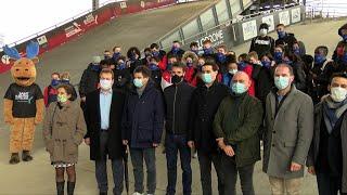 Yvelines | Tony Estanguet rencontre des jeunes au Vélodrome National de SQY