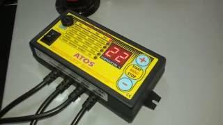 автоматики для твердотопливных котлов регулятор температуры , настройка и обзор турбины