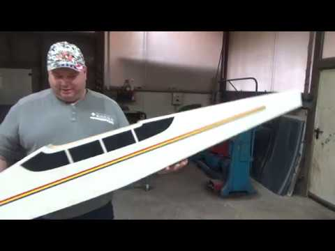 PRIMARY 100 ARF Giant 2.5m RC plane and 5.5HP 53cc Twin Cylinder Gas Engine Unboxing
