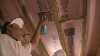 Winestudio Installation Series: Insulating The Ceiling