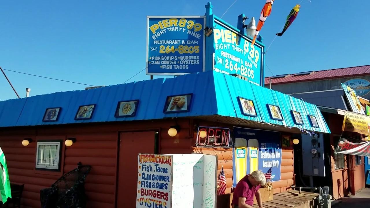 Pier 839 Seafood Restaurant In Newport Oregon