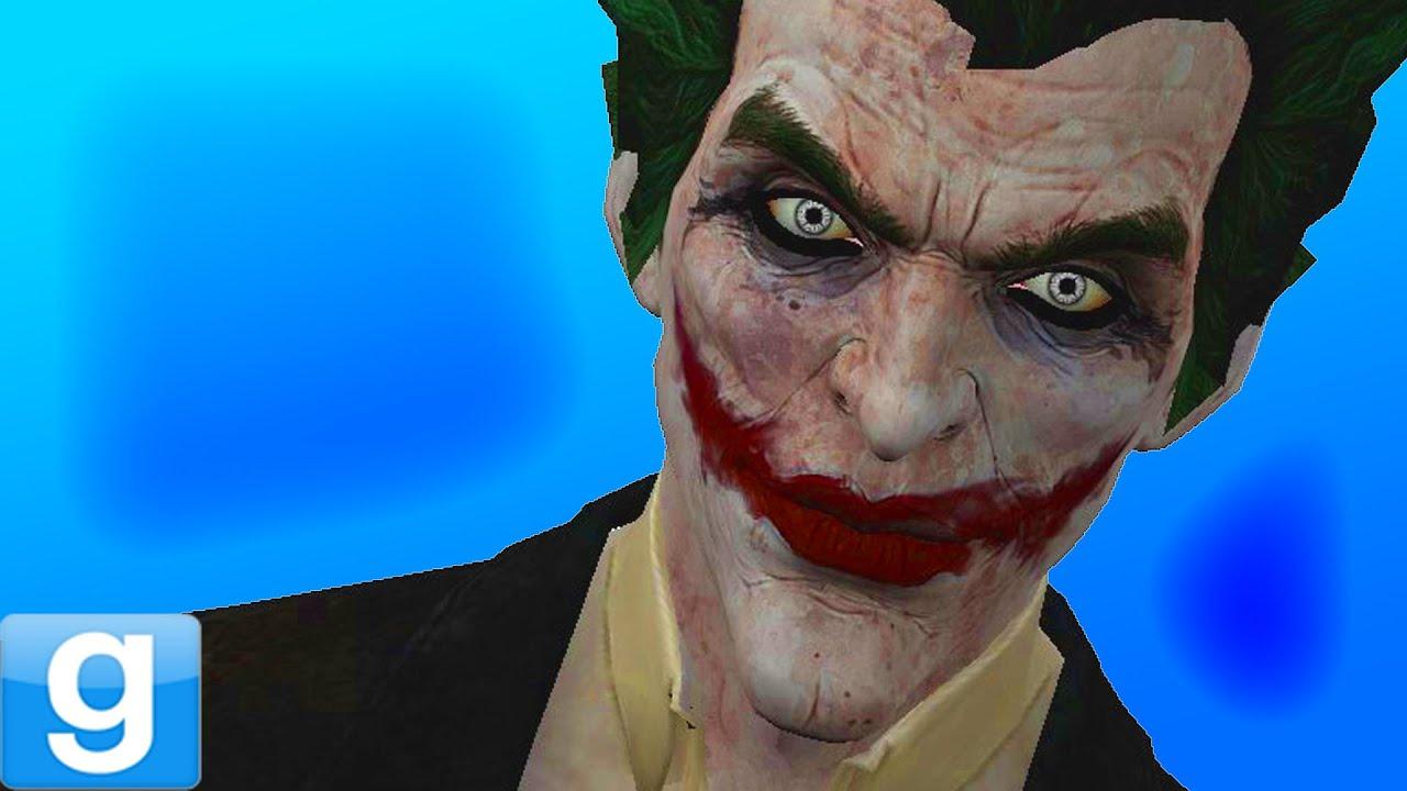 THE JOKER IN MCDONALD'S! - Gmod Batman Dark Knight Joker Mod (Garry's Mod)