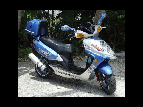 GY6 150CC Velocity Scooter on