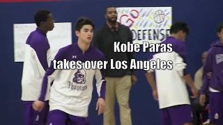 Kobe Paras Takes Over Los Angeles Junior Season Highlights!