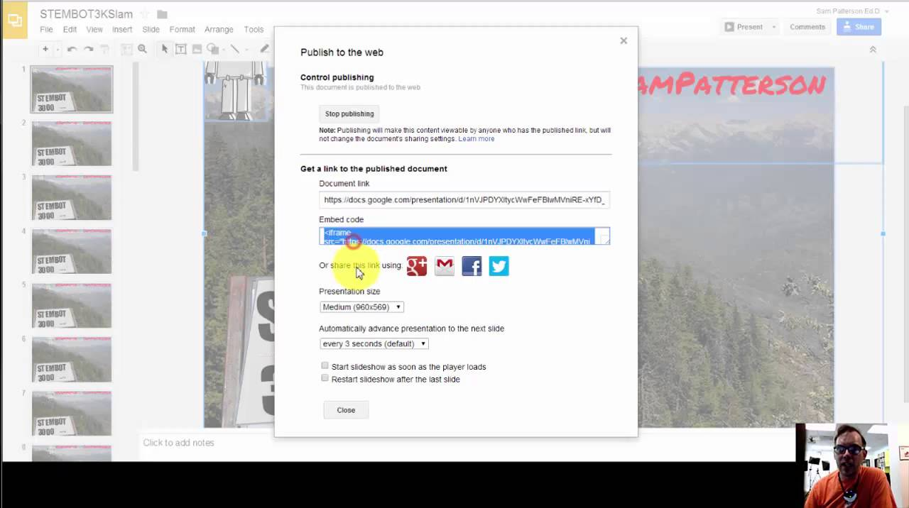 creating an animation using google slides youtube