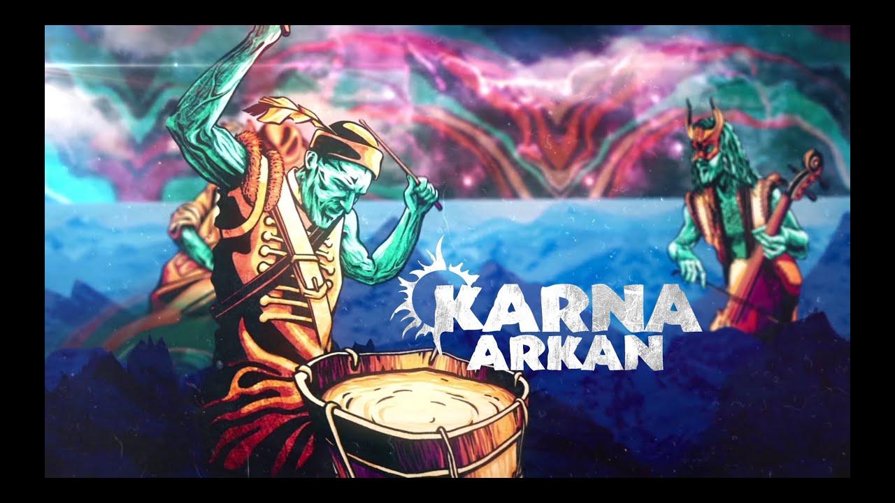 KARNA - ARKAN (Official lyric video 2019) NEW!!!