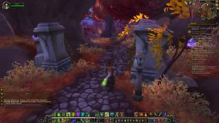 World of Warcraft An Unseemly Task / Leather for Ske'rit Skinning Legion Quest Guide