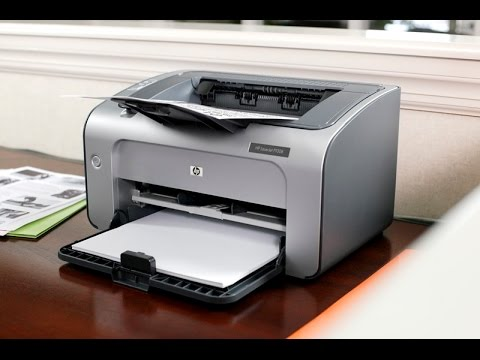 Unboxing and Testing The HP LaserJet P1006