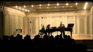 LIANA ALEXANDRA: Two Poems for Soprano and Piano on lyrics by Eugene Van Itterbeek