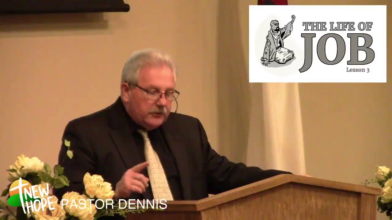 LIVE STREAM - 2/21 - PM - PASTOR DENNIS - LIFE OF JOB: 3 - SATAN VS JOB ROUND 2
