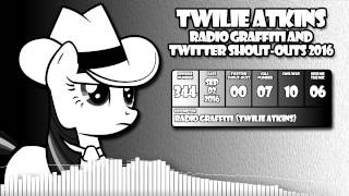 Twilie Atkins - Radio Graffiti and Twitter Shout-outs - 2016 (True Capitalist Radio)