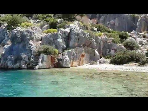 Kekova Adası Kayıp Şehir Demre - Antalya