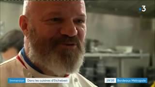 Dans les cuisines de Philippe Etchebest au 4e mur à Bordeaux