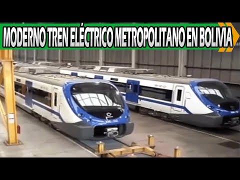 Bolivia Tendrá Moderno Tren Eléctrico Metropolitano en Cochabamba
