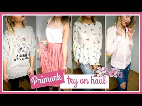 ║ Haul n°18 ║ try on Primark Haul - visite du rive Gauche