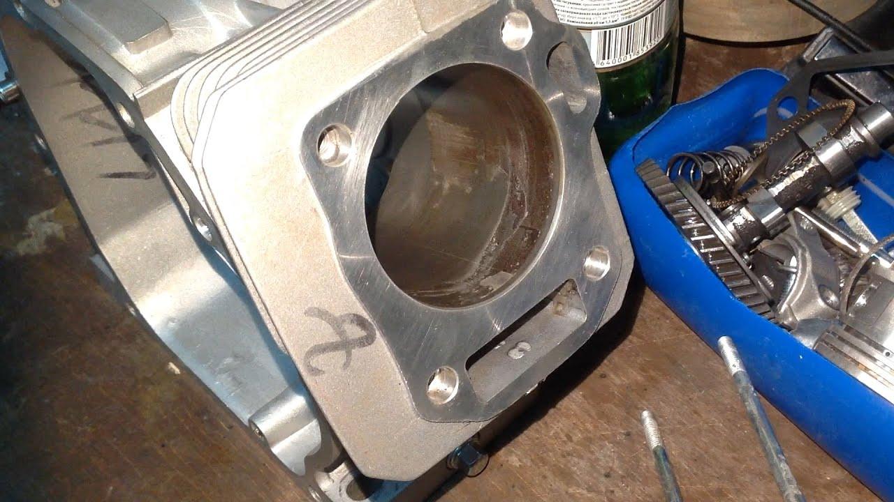 Ремонт двигателя lifan