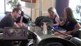 Leteam - Après-midi presse avec Ellen et Lea Sprunger