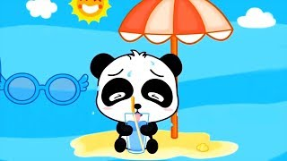 Learn Baby Habits With Baby Panda's Daily Life - Fun Kids Games