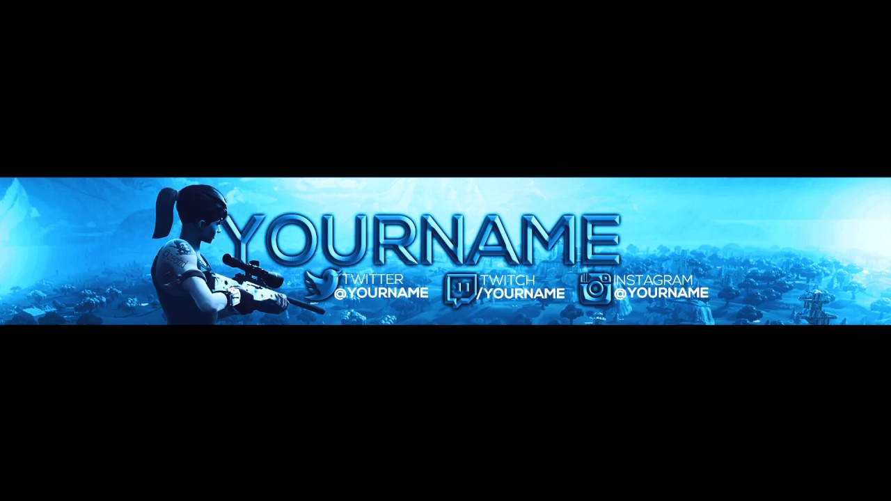 FREE Fortnite Banner - YouTube