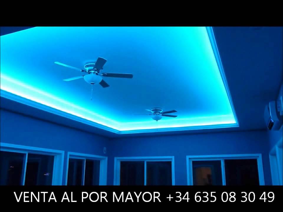Sistema de iluminaci n led tira digital persecutoria rgb youtube - Iluminacion indirecta led ...
