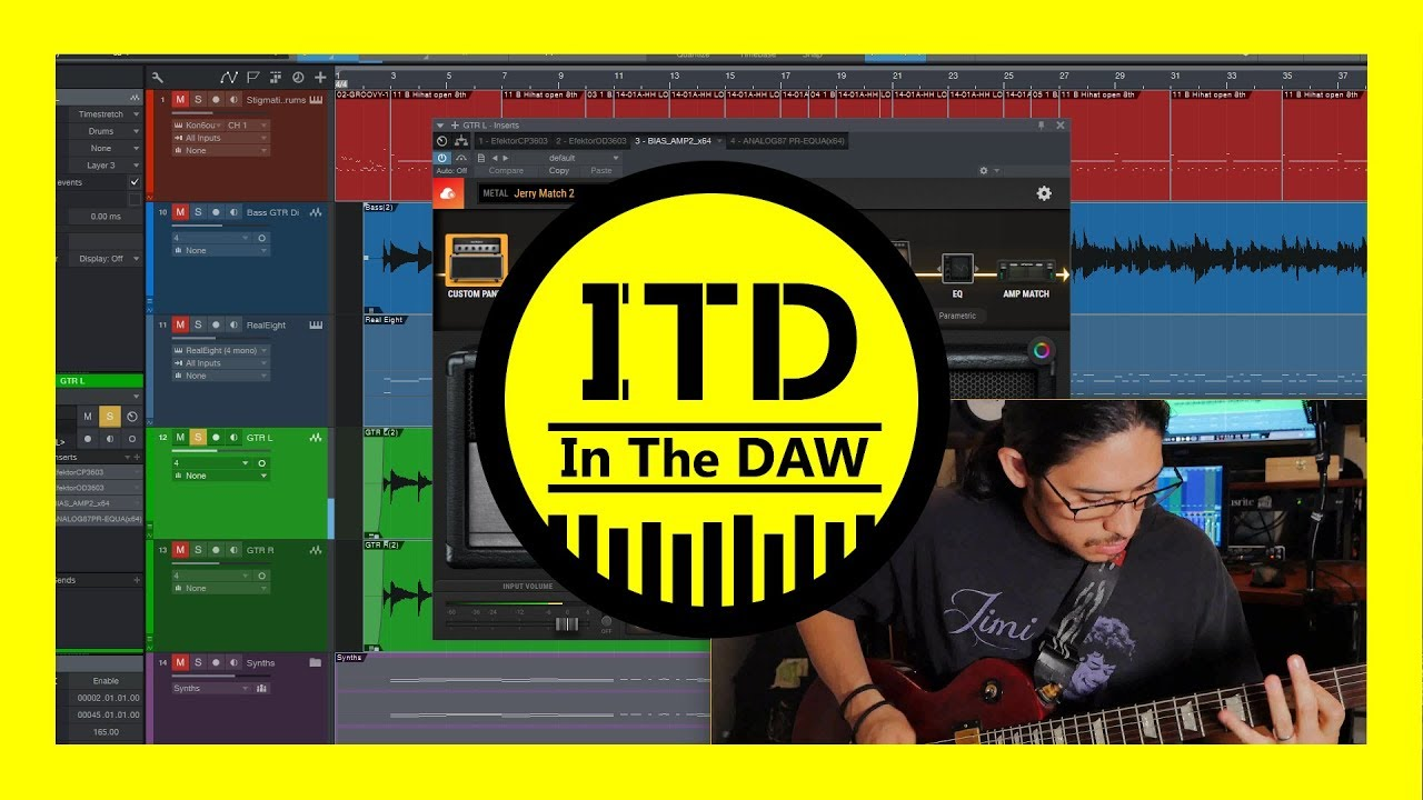 bias amp 2 playthough and review in the daw youtube. Black Bedroom Furniture Sets. Home Design Ideas