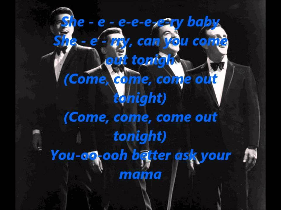 Frankie Valli & The Four Seasons - Sherry Baby [HD] **Lyrics** - YouTube