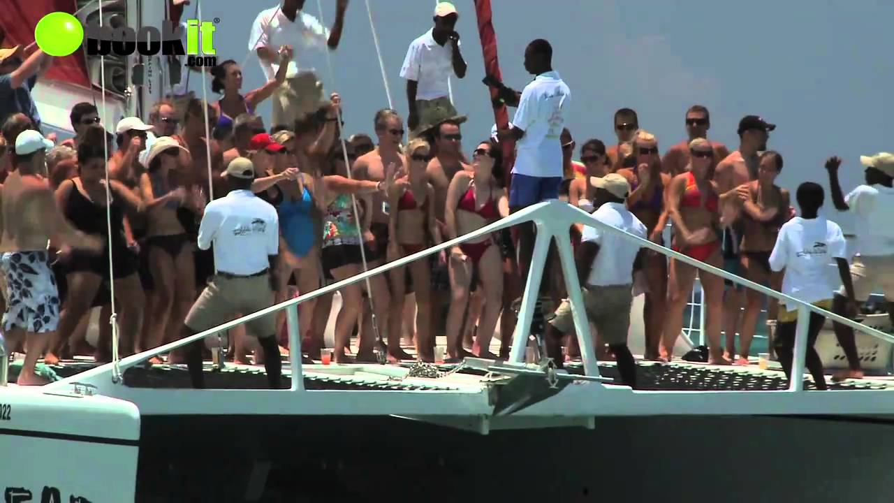 Party boat @Sandals Ocho Rios Jamaica - YouTube
