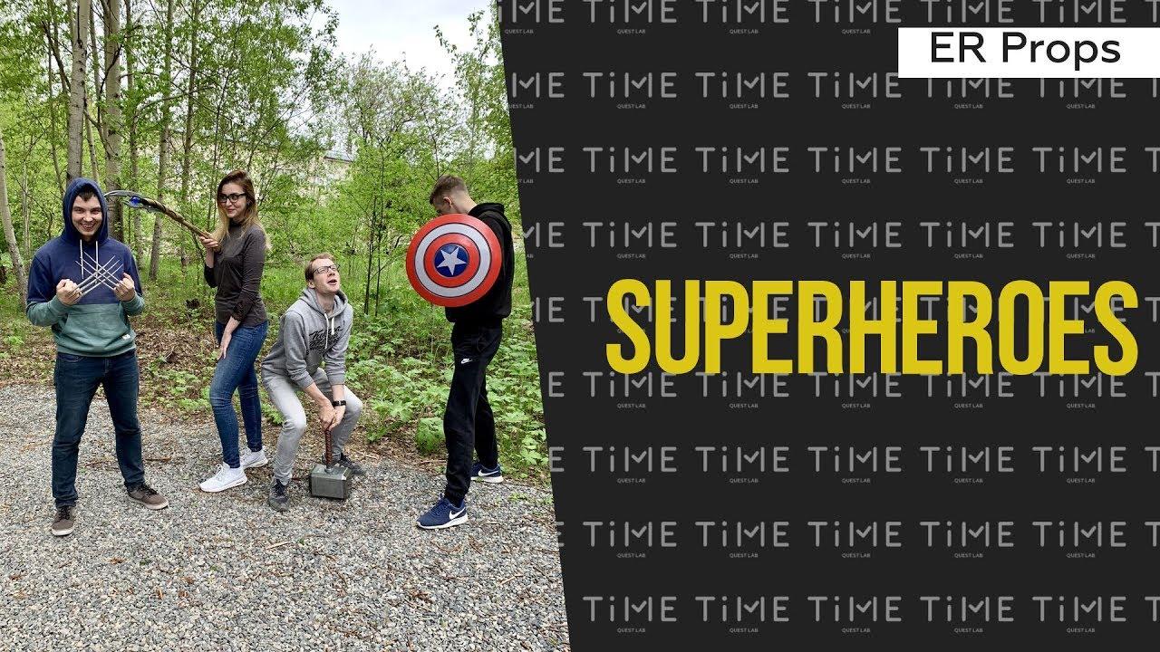 Superheroes   TiME Quest Lab