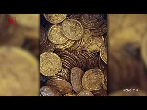 Hundreds of Ancient Roman Gold Coins Found Underneath Italian Theater