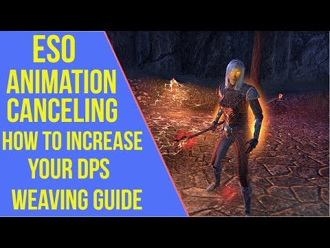 ESO - How to Increase your DPS | Animation Canceling Guide