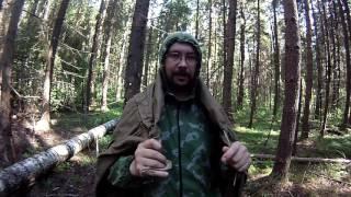 Плащ-палатка - некоторые нюансы (выход в лес с плащ-палаткой)(Решил немного показать, как можно использовать плащ-палатку. Одно видео не очень получилось (формирование..., 2016-06-20T20:18:16.000Z)