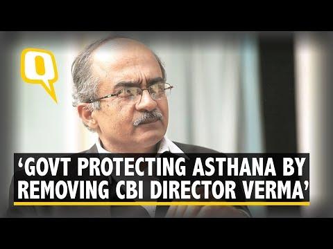 Govt Removed CBI Director Alok Verma to Protect Rakesh Asthana: Prashant Bhushan | The Quint Mp3