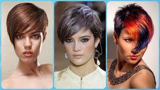 Top 20 modne krótkie fryzury damskie z grzywką