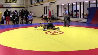 2015 Golden Bear Invitational: 57 kg Nathan Schwartz vs. Dave Sharma