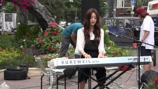 160620 달샤벳(dalshabet) 수빈(subin) single part2 발매기념 홍대 버스킹1