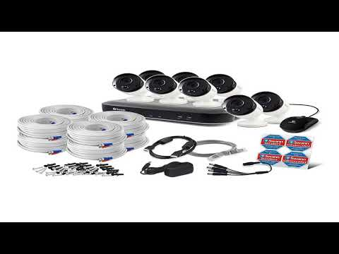 [DISCOUNT] - Swann SWDVK-849808 Super HD 5MP Security System, 8 Channel 2TB DVR